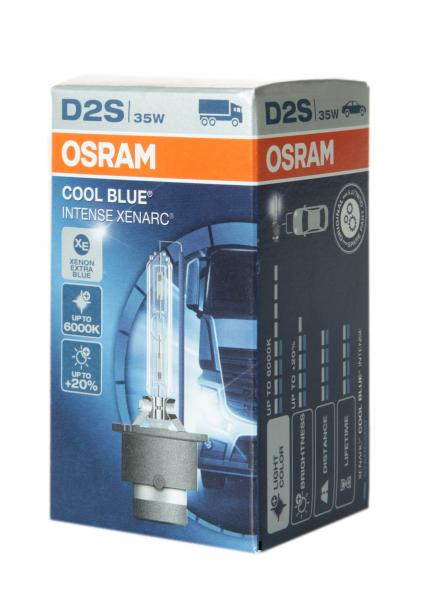 OSRAM D2S 66240 CBI Cool Blue Intense Xenarc mit 6000 Kelvin 1 Stück