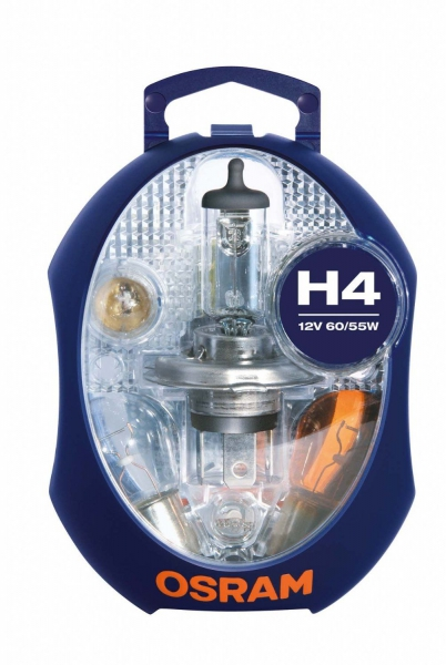 Osram PKW Ersatzlampenbox H4 Halogen 12V 60/55W