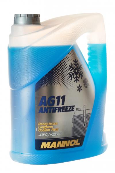 Mannol AG11 Antifreeze Kühlerfrostschutz Kühlschutzmittel bis -40°C