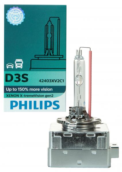 Philips D3S 42403XV2 X-treme Vision gen2 Xenon Brenner