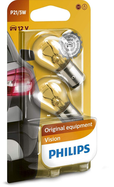 Philips P21 BAY15d Vision Bremsleuchten (2er Pack)