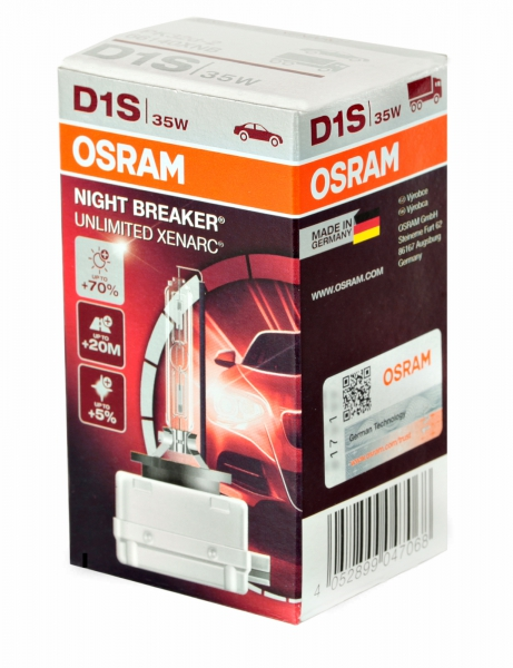 OSRAM D1S 66140 XNB Night Breaker Unlimited XENARC