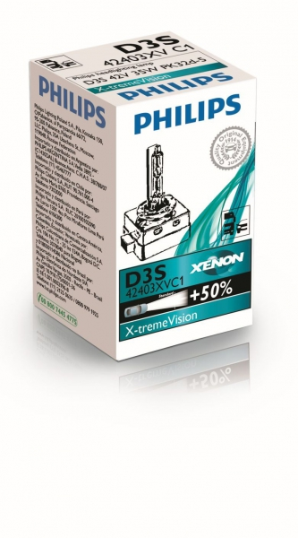 Philips D3S 42403XVC1 X-tremeVision Xenon Brenner in C1 Verpackung