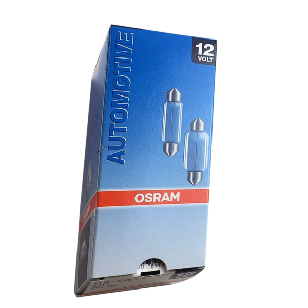 Osram C5W 10W Automotive SV8,5 - 8 Innenraum - Sofitten (10er Pack)