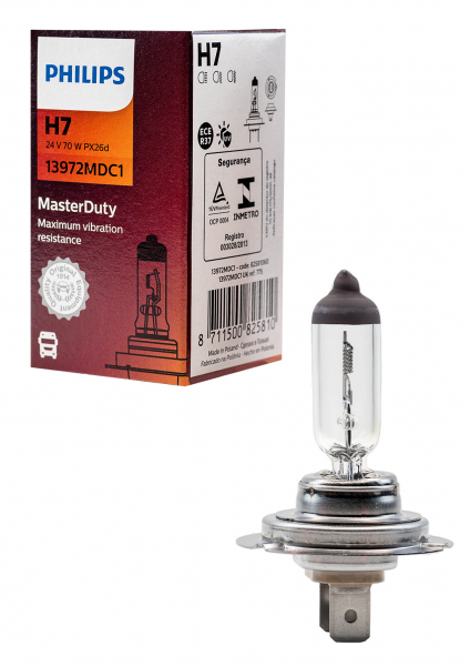 Philips H7 24V 70W 13972MDC1 Master Duty Halogen Lampe
