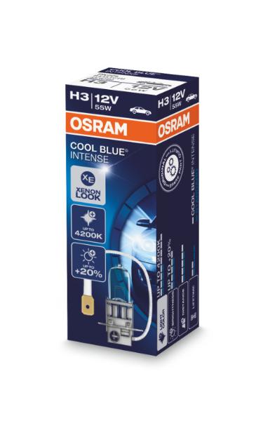 Osram H3 64151CBI Cool Blue Intense Halogen Lampe