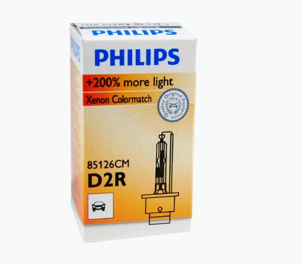 Philips D2R 85126CM Colormatch Xenon Brenner 200% mehr Licht