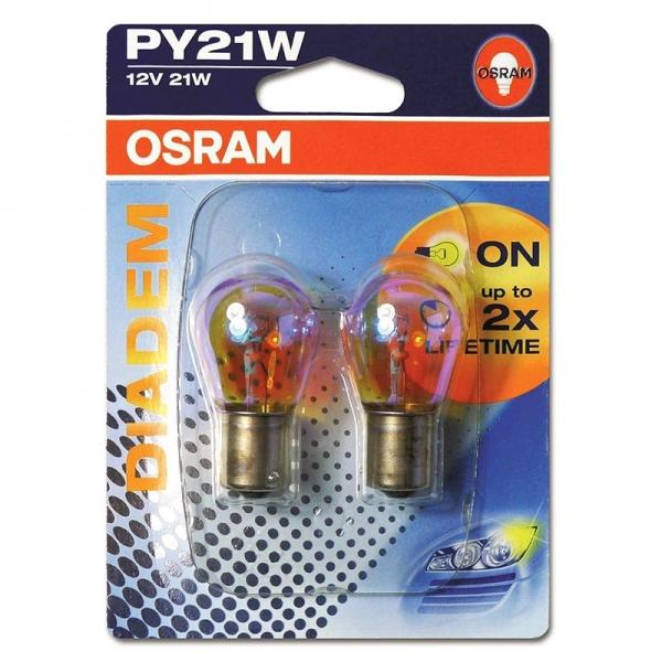 Osram PY21W Bau15s DIADEM Blinkerlampe (2er Pack)