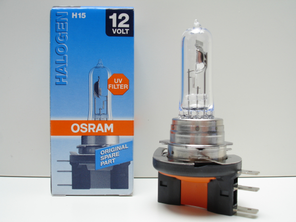 Osram H15 64176 Halogen Scheinwerferlampe 15/55W