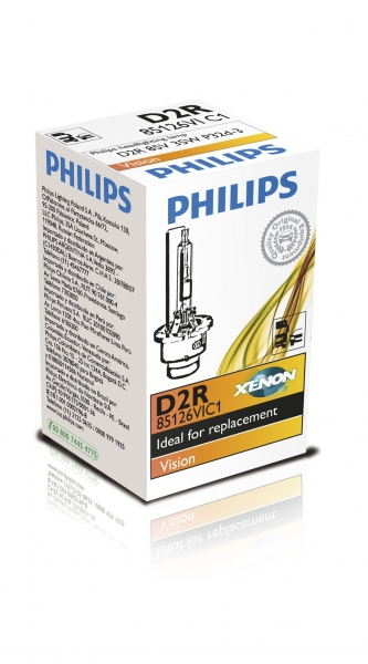 Philips D2R Vision Xenon Brenner 85126VI C1 Verpackung